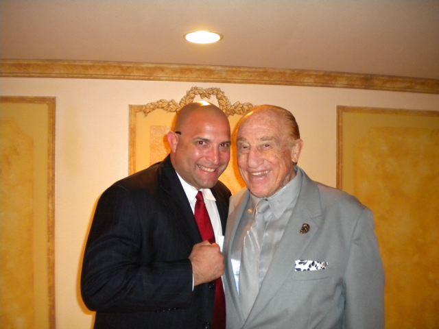 Mark Mireles with Gene LeBell
