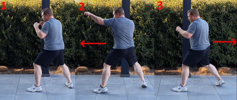 How to shadowbox for self-defense using footwork