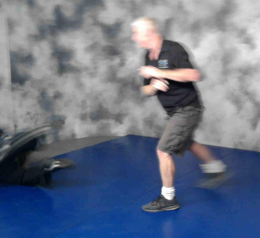 Bill Kipp Fast Defense Gladiator Suit