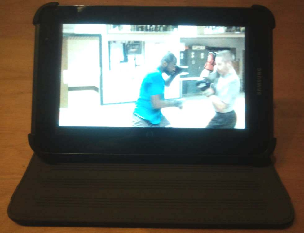 How to use an android tablet computer for martial arts training and teaching