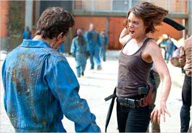 The Walking Dead Season 3 and Self-defense