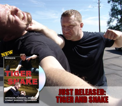 Combat Sanshou the self-defense system Tiger and Snake