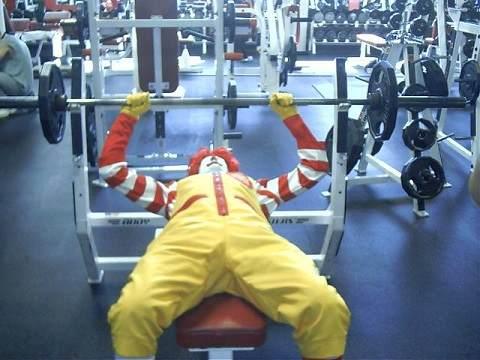 gym clowns