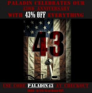 Paladin Press discount