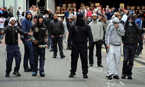 What riots in Molenbeek look like.