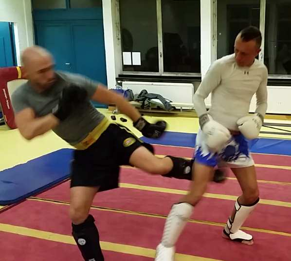 How to train the leg kick for MMA