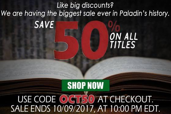 Final Paladin Press sale