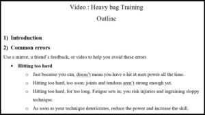 How to make an instructional video for martial arts and self-defense